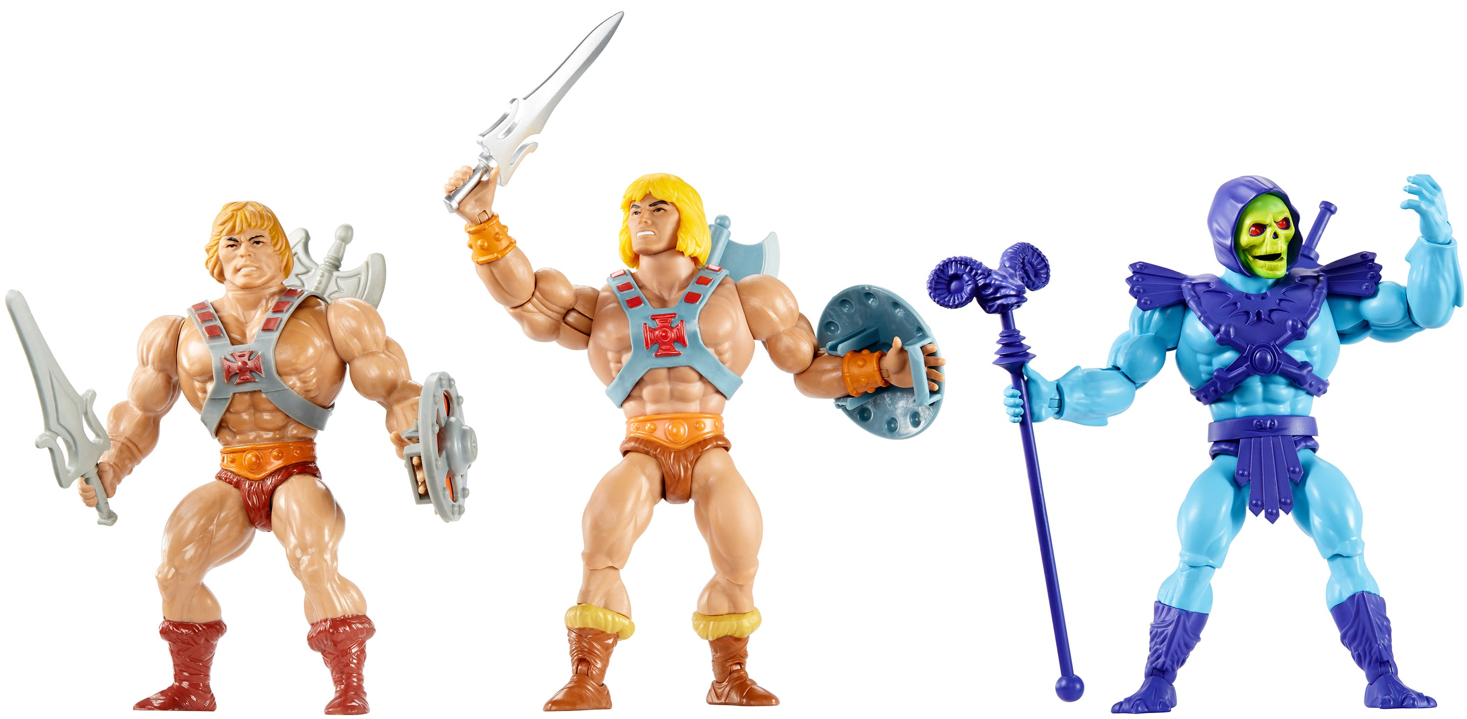 Mattel Is Bringing Back The Original Vintage He-Man Figures Now Packed With Articulation