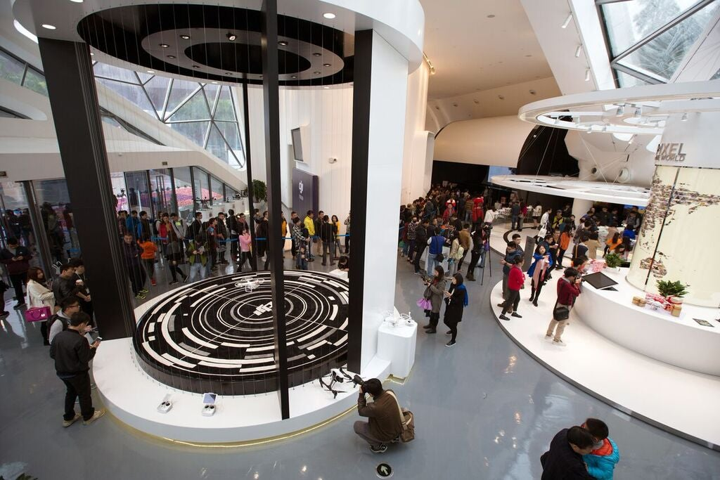 DJI's First Flagship Store Looks Like Pure Drone Heaven