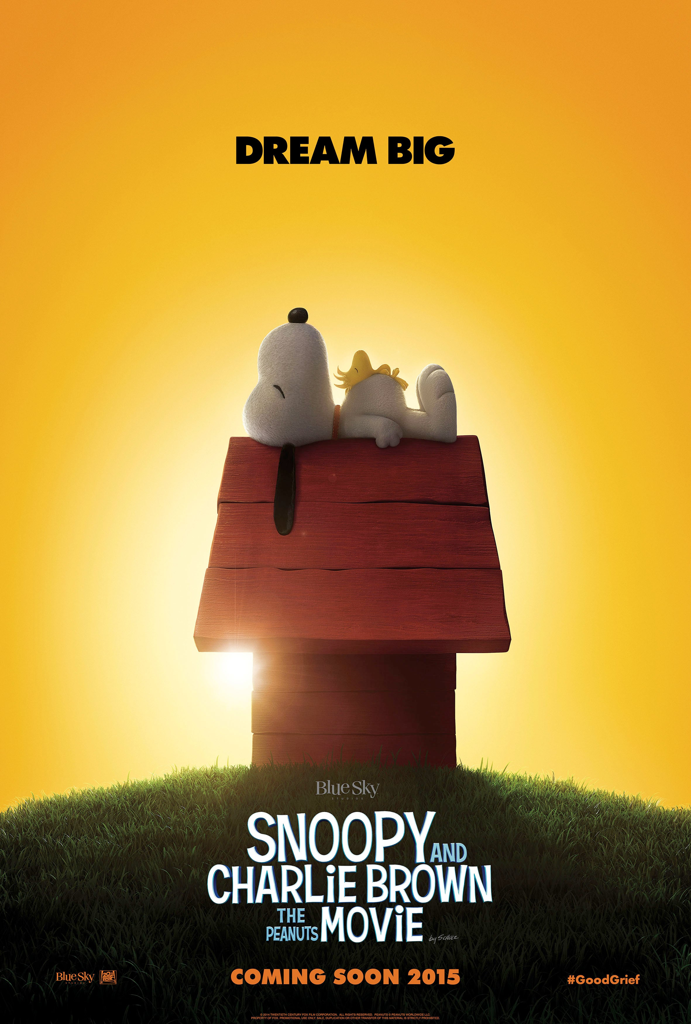 Snoopy looks so good in this movie poster