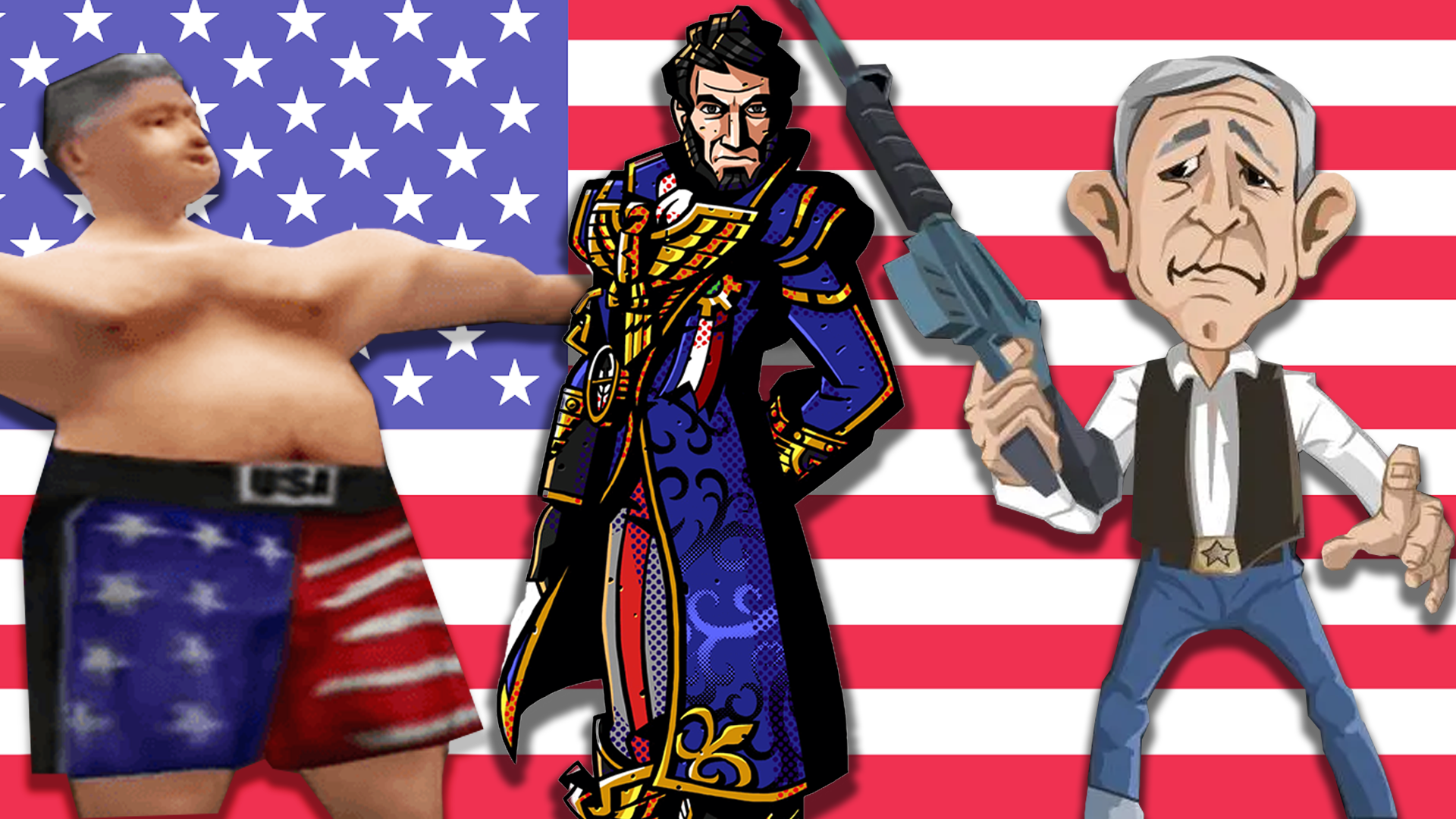 Some Of The Weirdest Times Real-Life Presidents Appeared In Video Games