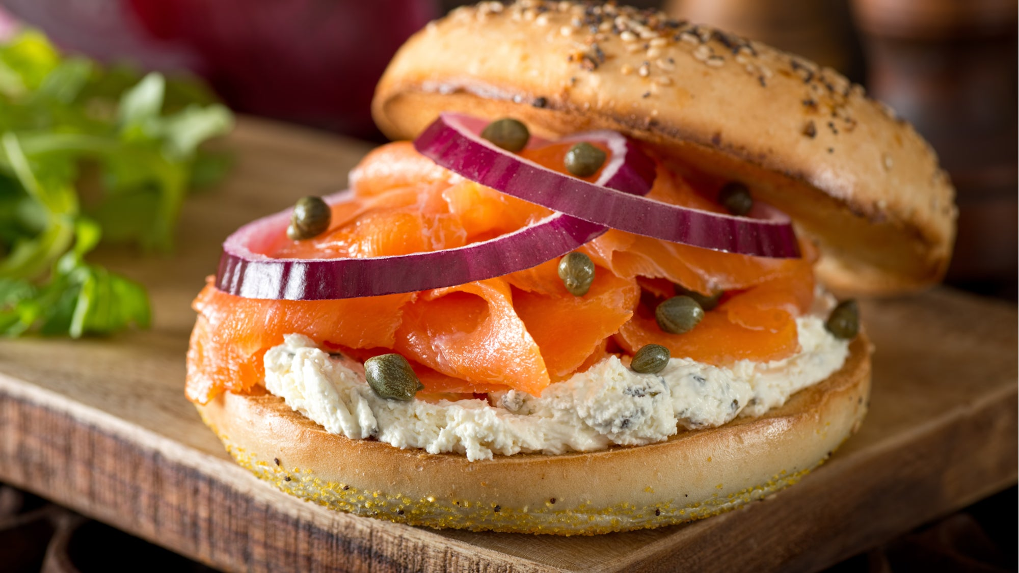 This Is The Best Way To Arrange Your Bagel Toppings