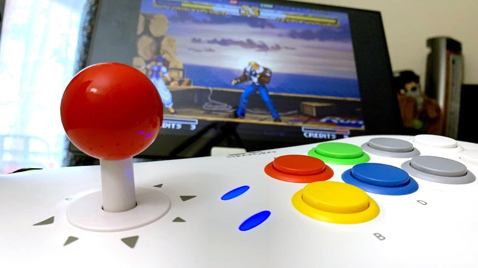 The Neo Geo Arcade Stick Pro Is A Decent Retro Console In A So-So Fight Stick