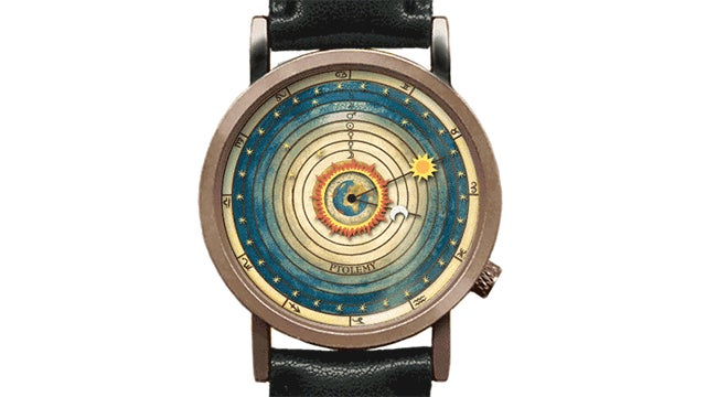The Earth Is At the Center of This Watch's Tiny Solar System