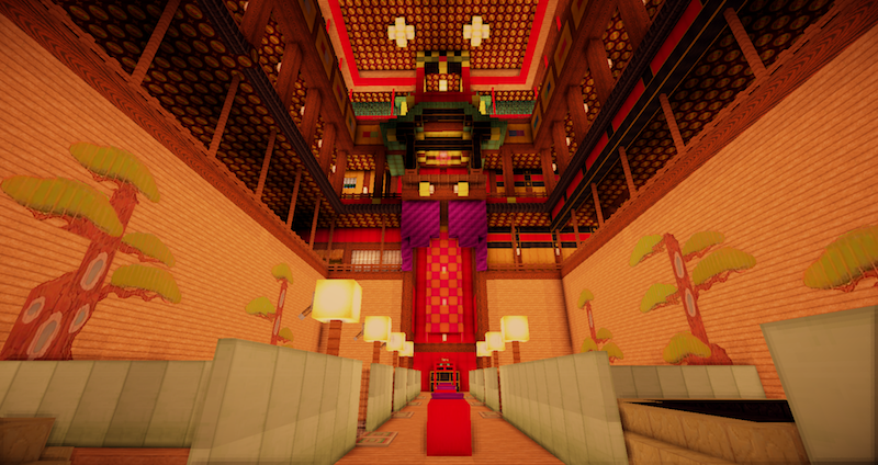 Spirited Away's Minecraft Reconstruction Is Still Magical
