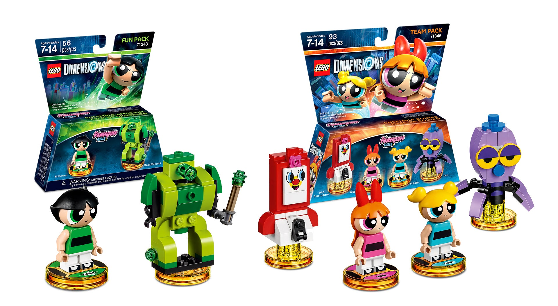 The Powerpuff Girls And Teen Titans Go Come To Lego Dimensions In September  Kotaku -2661