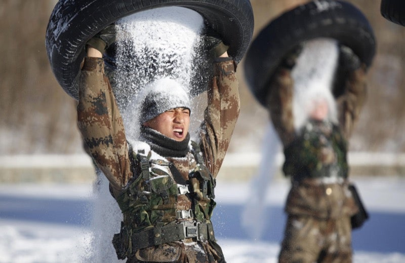 Extreme Chinese Military Training