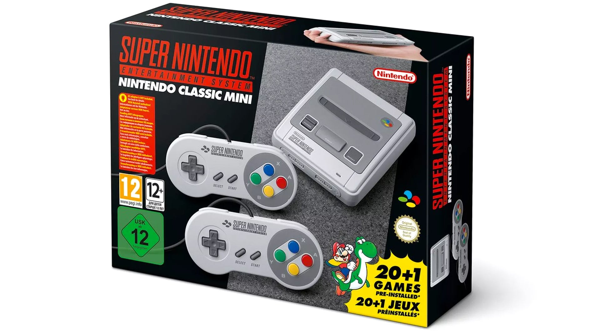 The long-awaited 'Super NES Classic' is finally unveiled