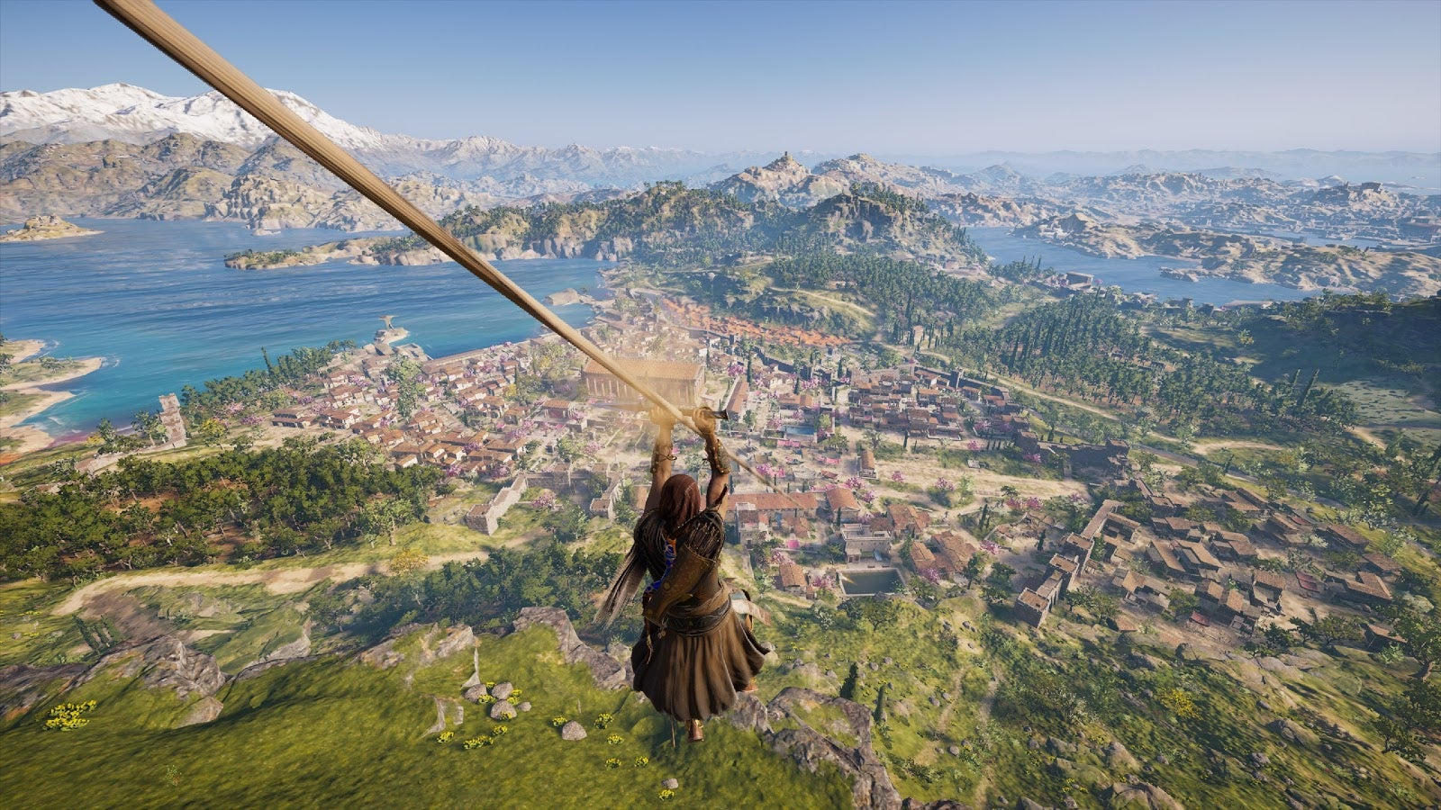 I Hit Assassin S Creed Odyssey S Original Level Cap Before Seeing