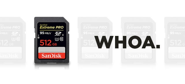 SanDisk's Ridiculous New 512GB SD Card Costs $US800