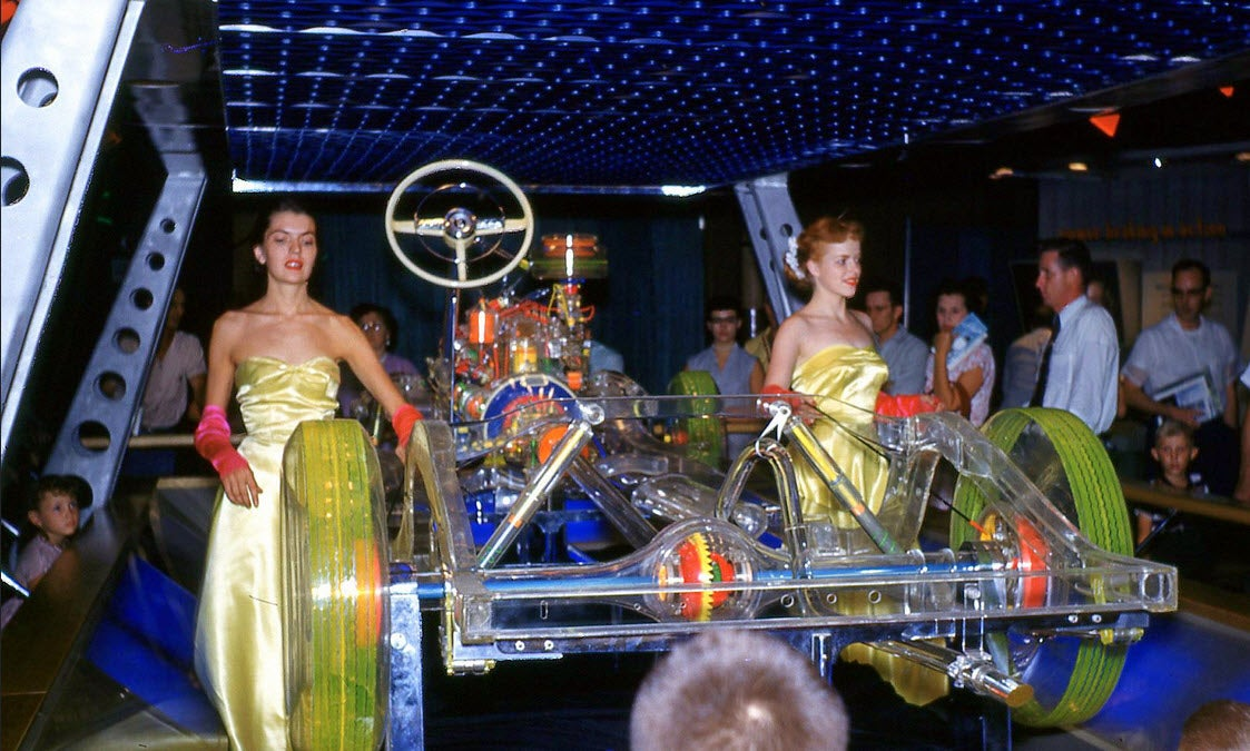 Was This the Plexiglass Car of the Future in 1952?