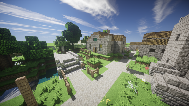 Old School RuneScape Rebuilt In Minecraft