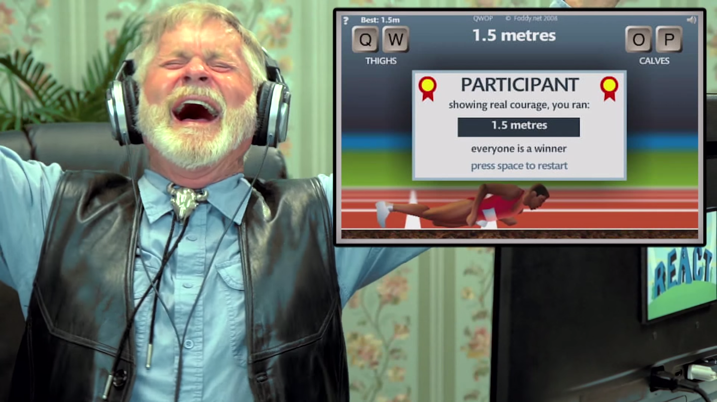 Old Folks Try QWOP, Are Also Utterly Confused