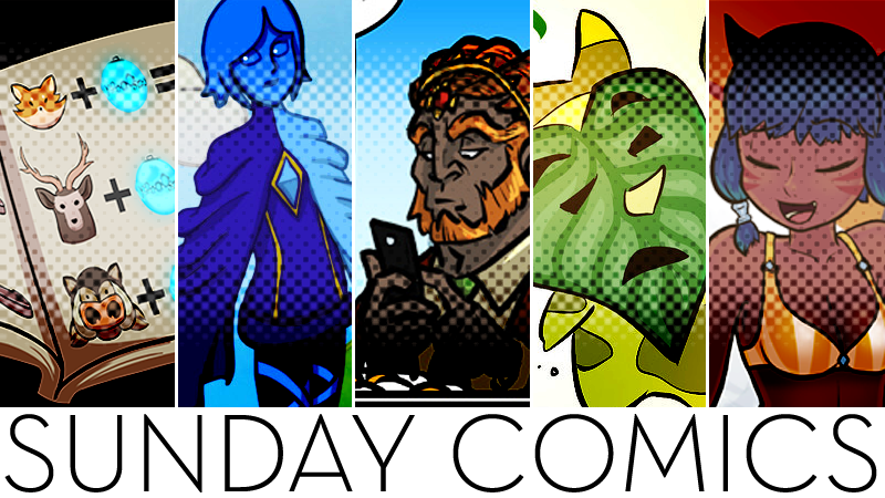Sunday Comics: The Hyrule Guide To Food Preperation