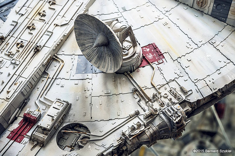 This Guy Spent 4 Years Making a Flawless Millennium Falcon Out of Paper