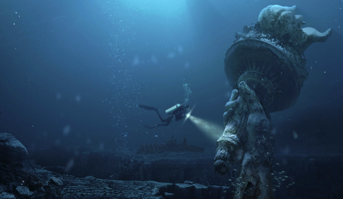These Iconic Landmarks May Be Underwater Within 2,000 Years