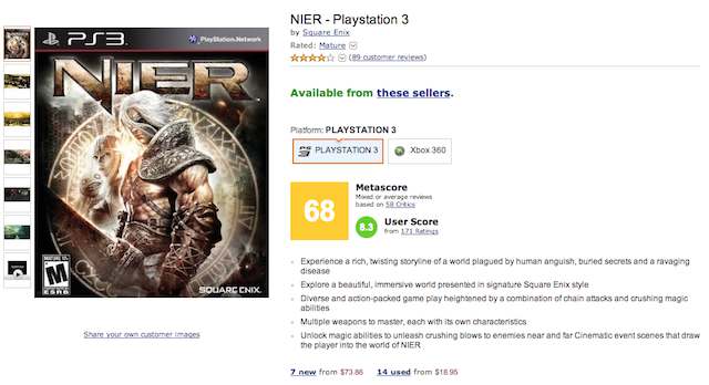 Amazon Adding Metacritic Scores Is Bad News For Everyone