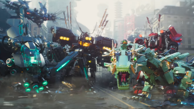 There's A Whole Lot Of Ninjas With Giant Robots In The First Trailer For The LEGO Ninjago Movie