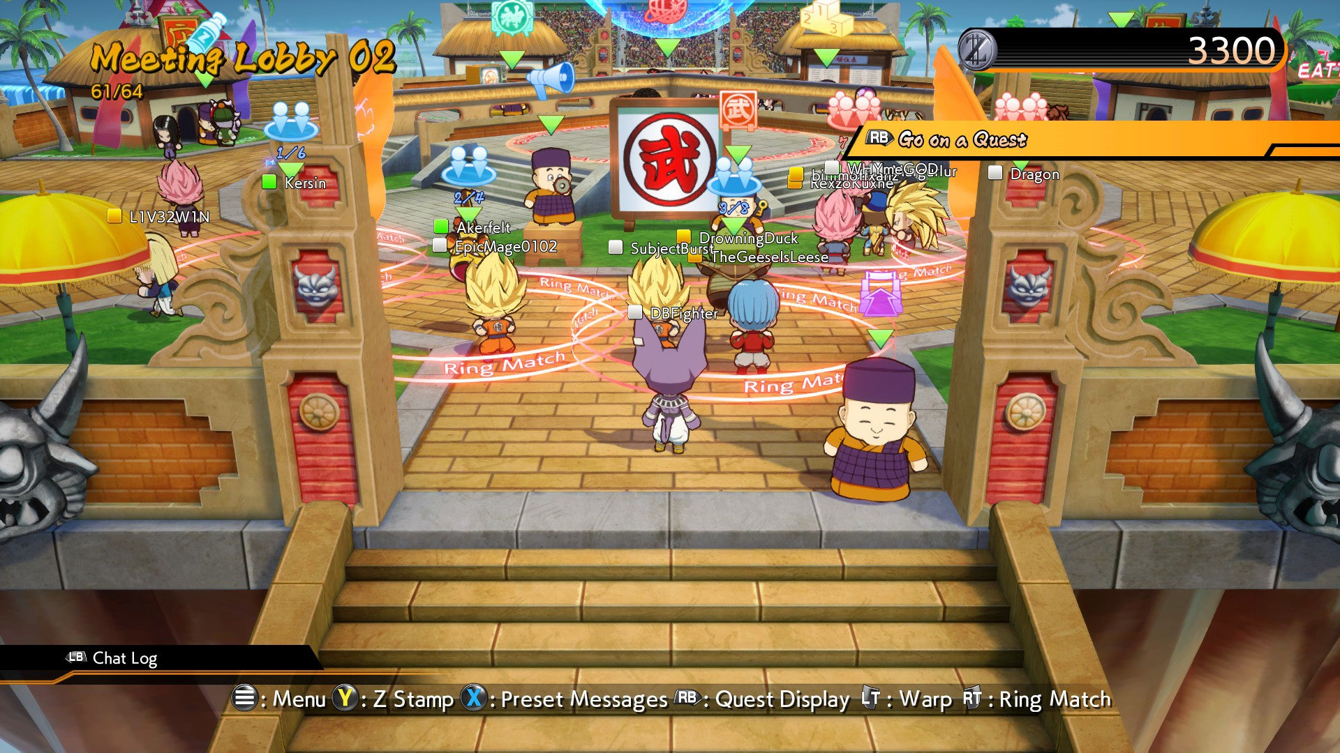 The best players in fighting games are meeting in dragon ball the dragon ball fighterz lobby system voltagebd Images