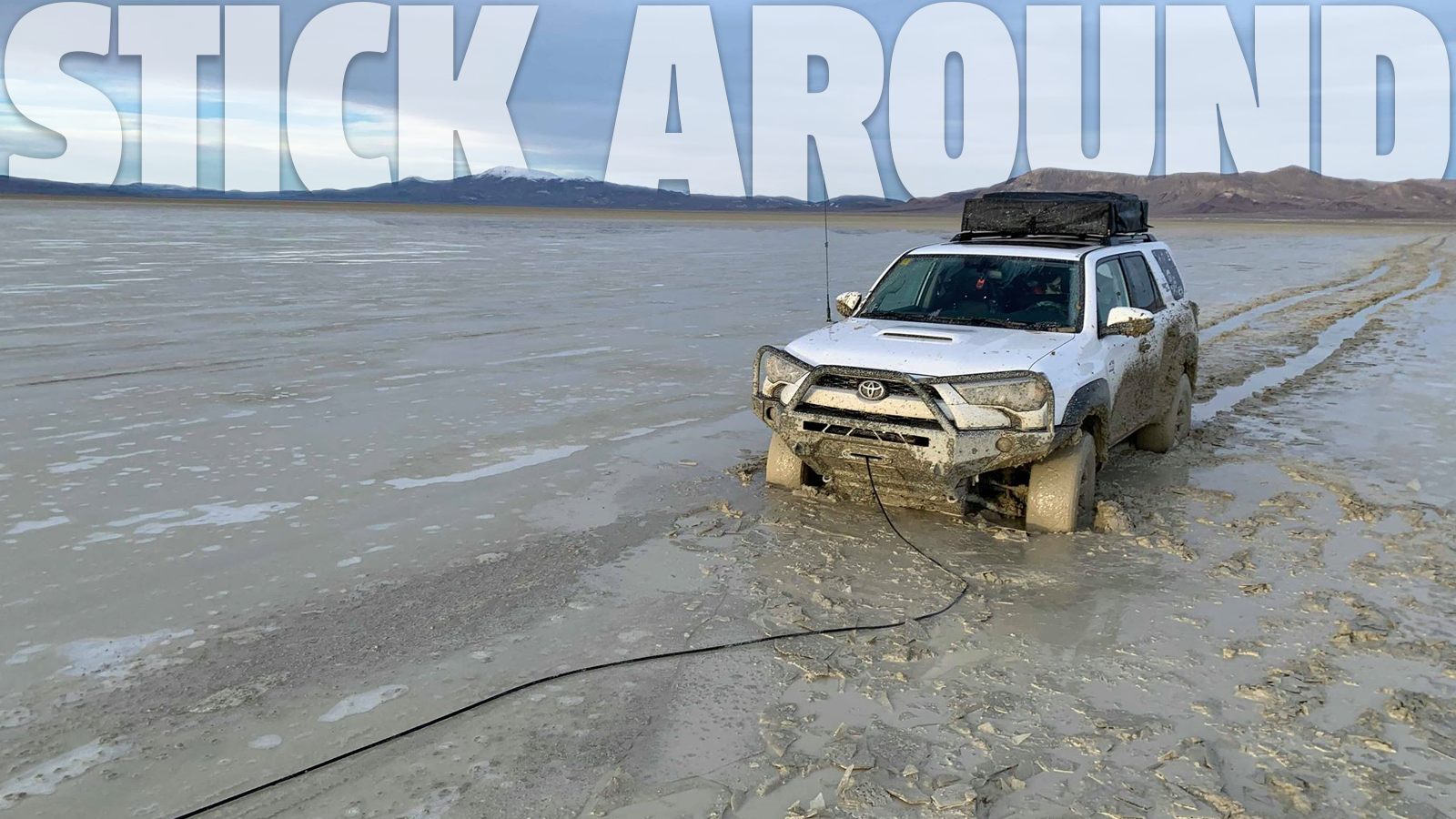 This Hopelessly Stuck 4Runner Turned Into A Captivating, Muddy Rescue Thanks To Facebook's Off-Road Community