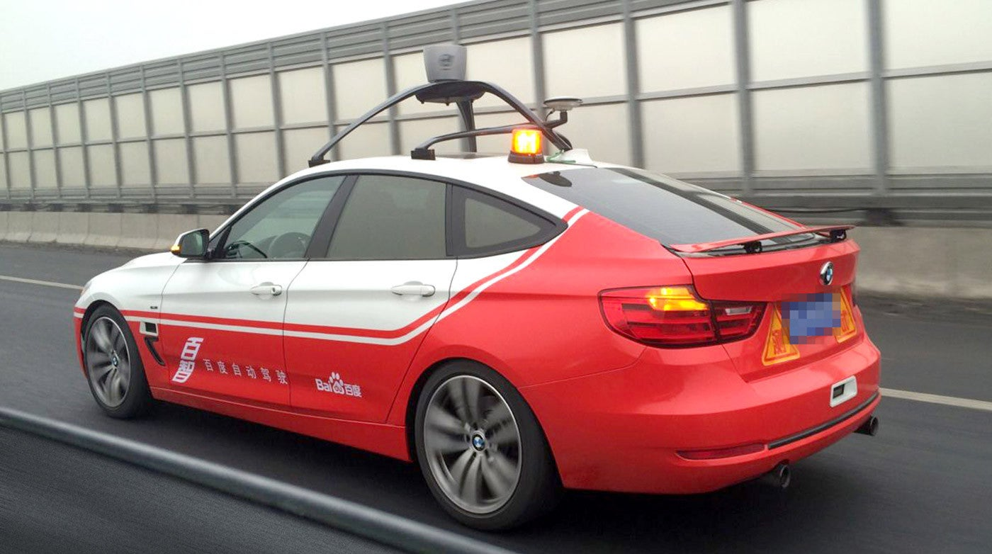 Baidu's Testing A Self-Driving Car And Samsung Is Building Autonomous Car Parts