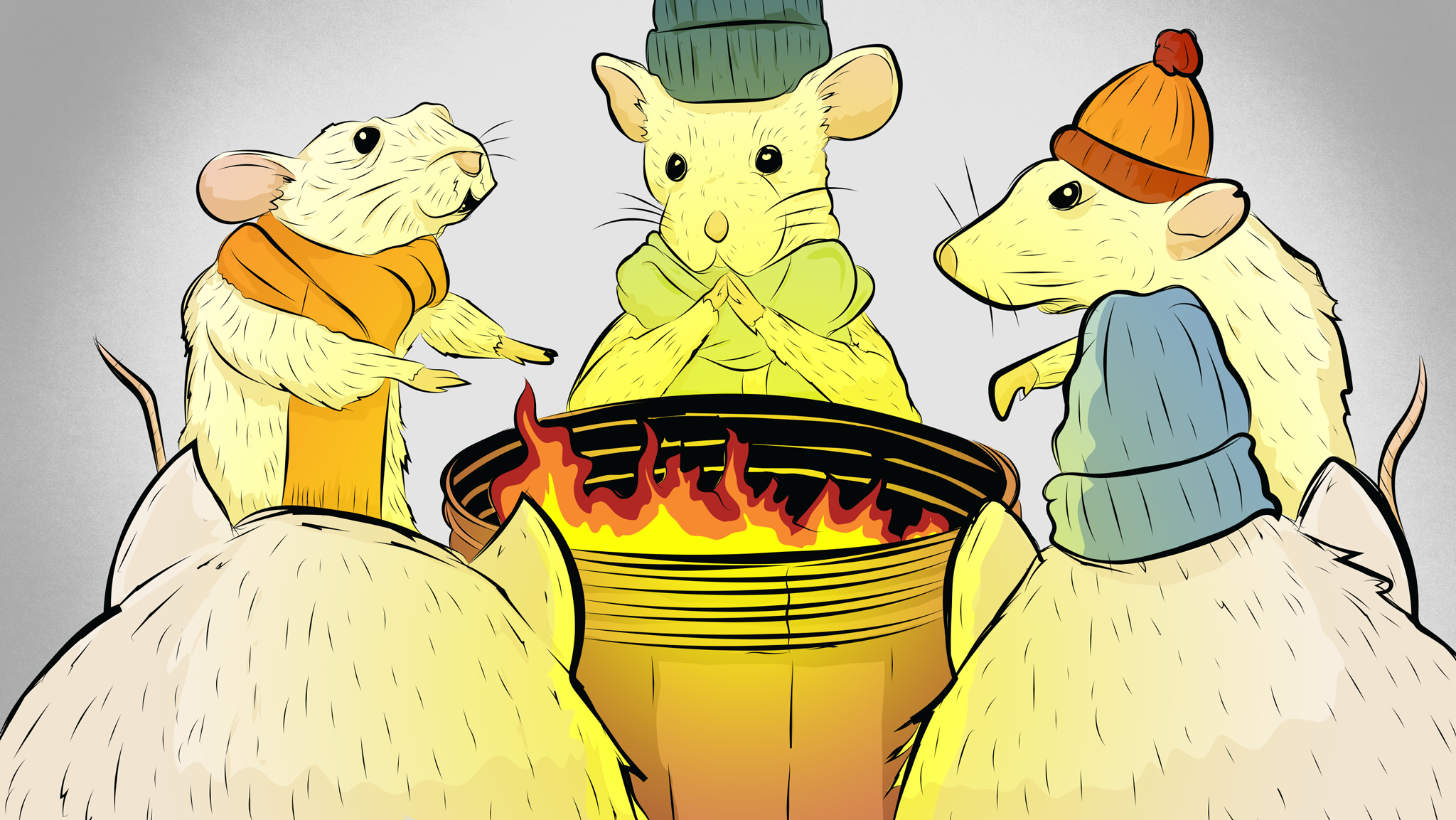 Lab Mice Are Freezing Their Asses Off -- and That's Screwing Up Science