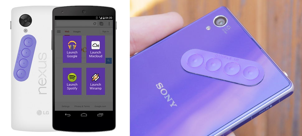 This Sticker Adds Four Customisable Buttons To Your Android Device