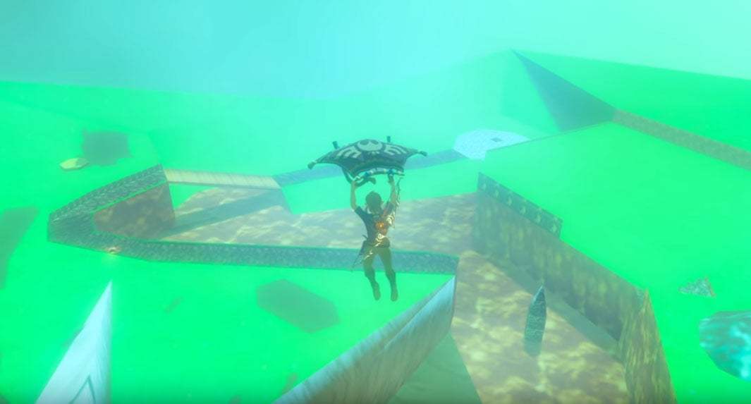 Breath Of The Wild Now Supports Custom Dungeons And Maps (On PC)