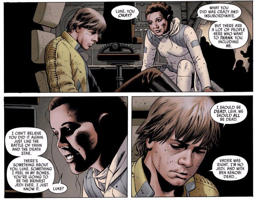 When Luke Skywalker Sucked at Being a Jedi