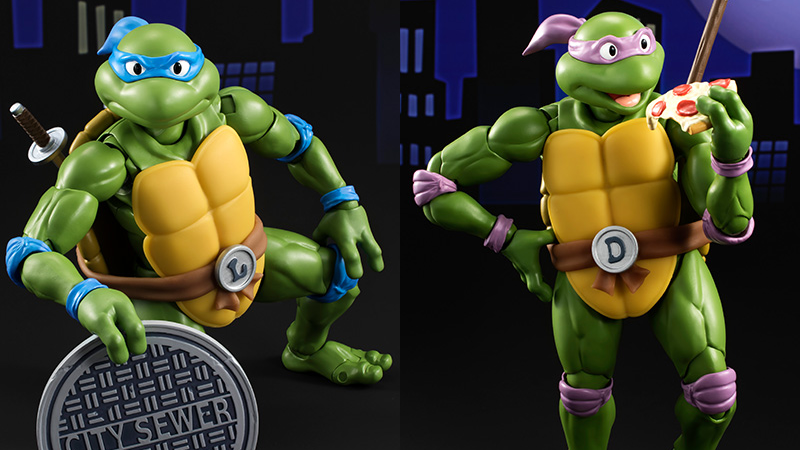 These Teenage Mutant Ninja Turtles Figures Look Like They have Stepped Right Out of the Cartoon