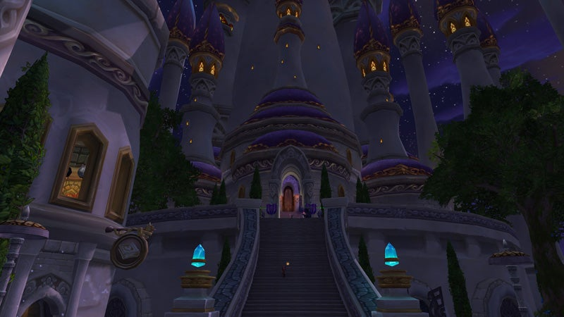 World of Warcraft's Old And New Dalaran, Compared