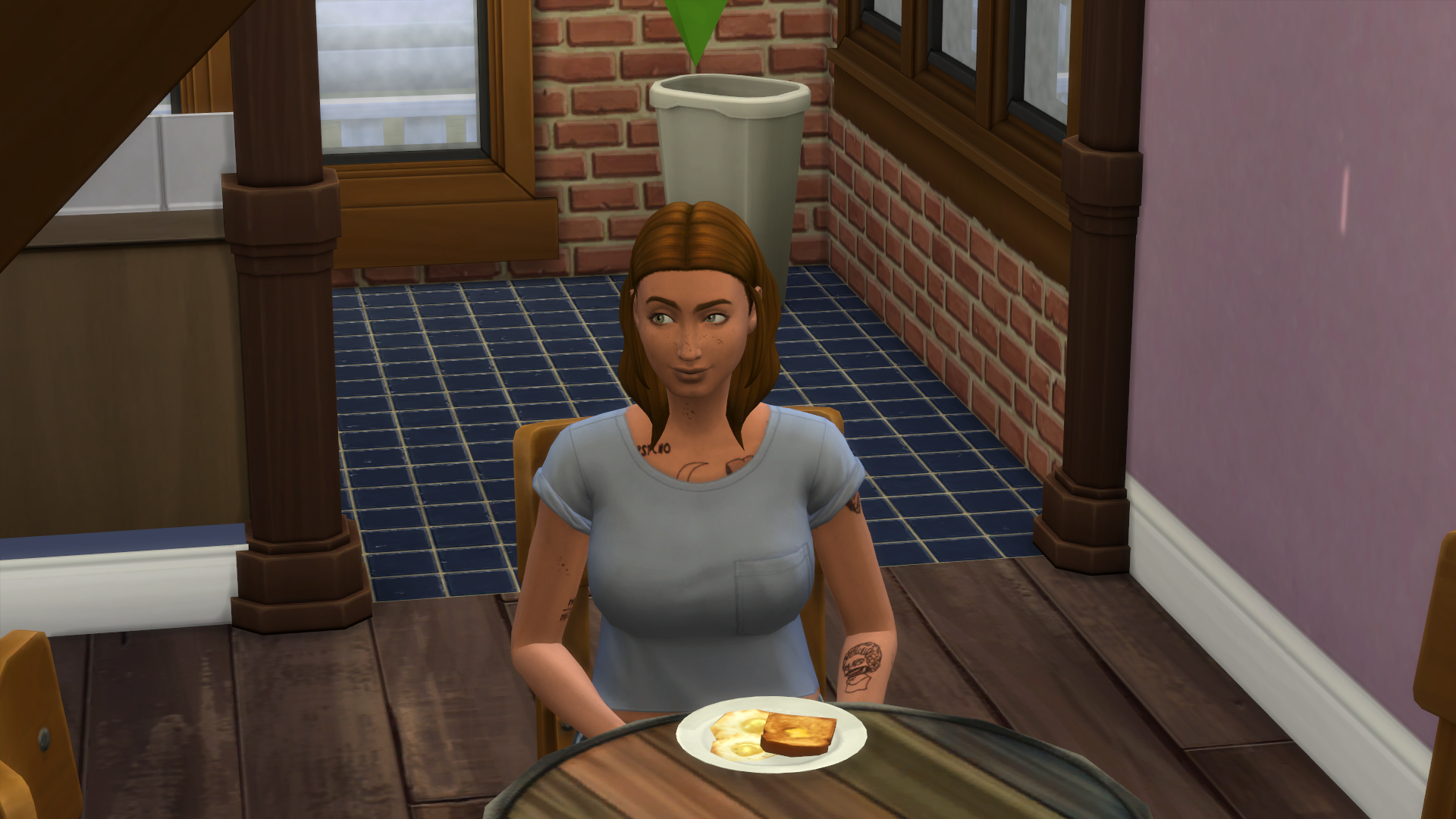 My Sims Won't Freaking Stay In One Place To Finish A Meal