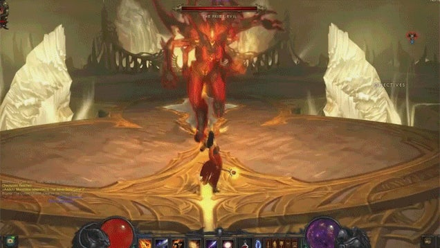 Diablo III With WoW's Camera Looks Like a Totally Different Game