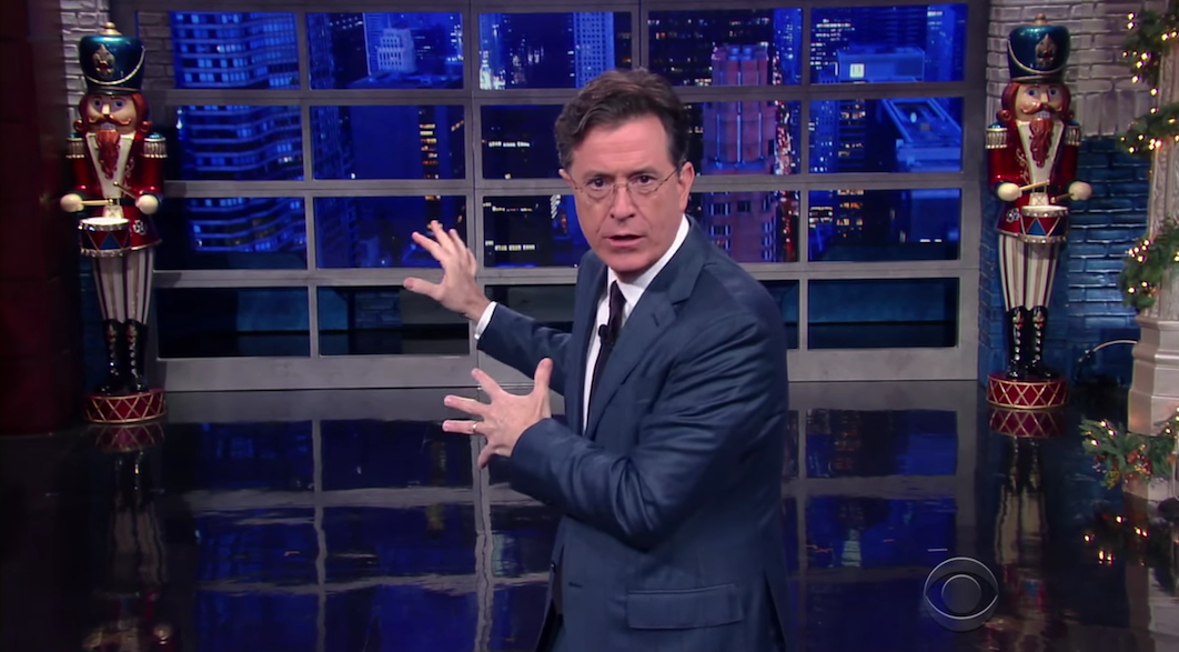Stephen Colbert's Ridiculous Plan To Save Everyone From Star Wars Spoilers