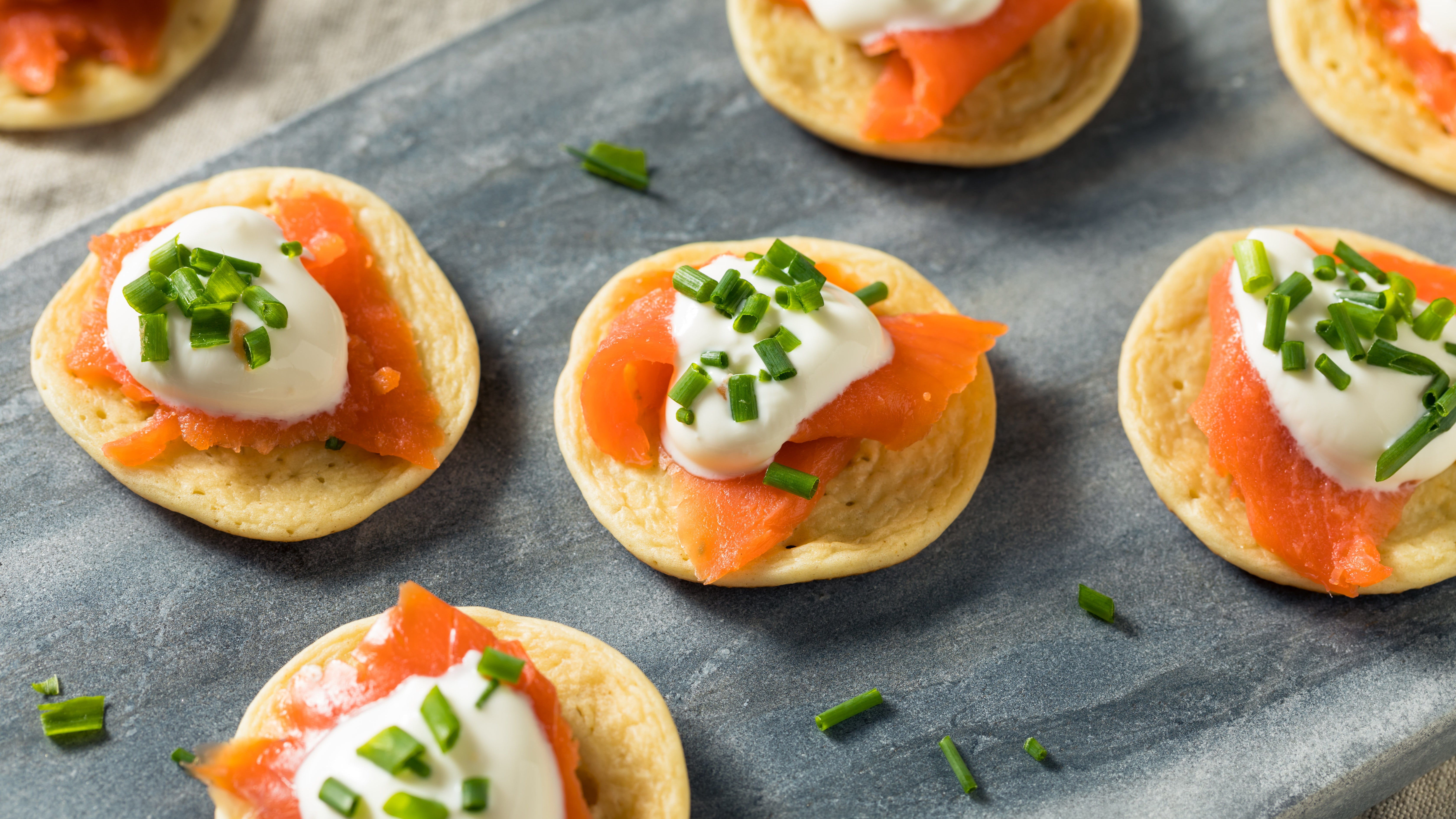 Make 'Cheater' Blini By Thinning Out Pancake Mix