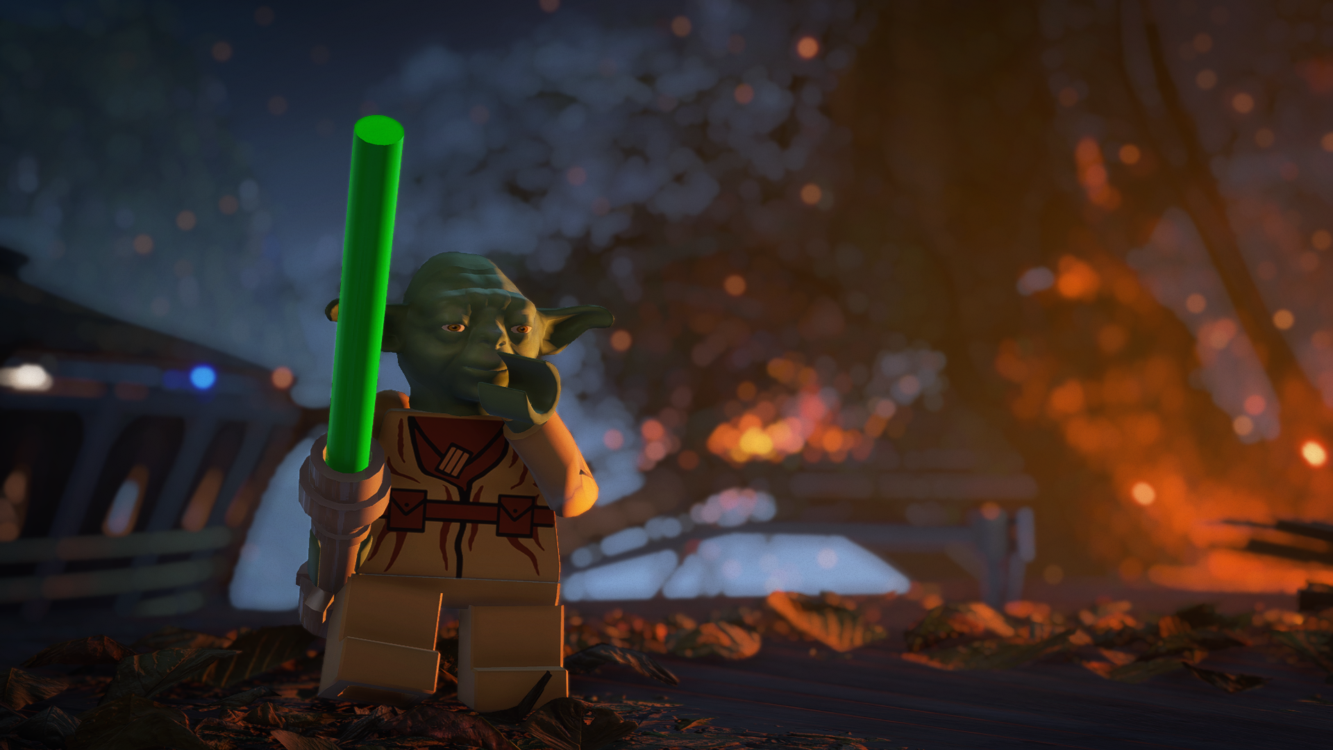 Mods Bring LEGO To Star Wars Battlefront II