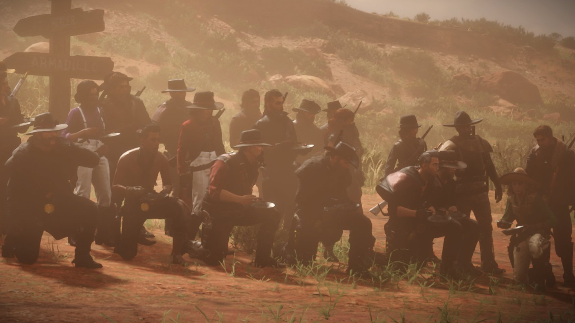 A Large Group Of Red Dead Online Players Tried To Carry Bowls Of Soup Across The Entire Map