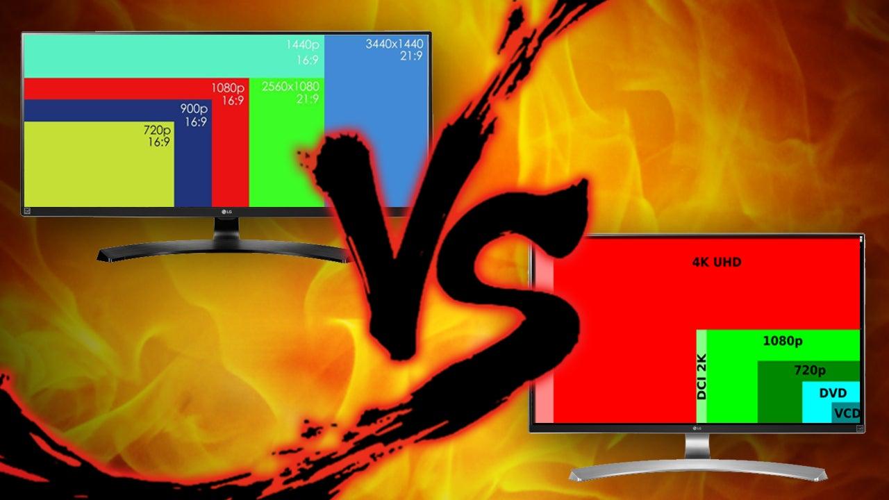 Screen Real Estate Showdown: Ultrawide vs. 4K Monitors