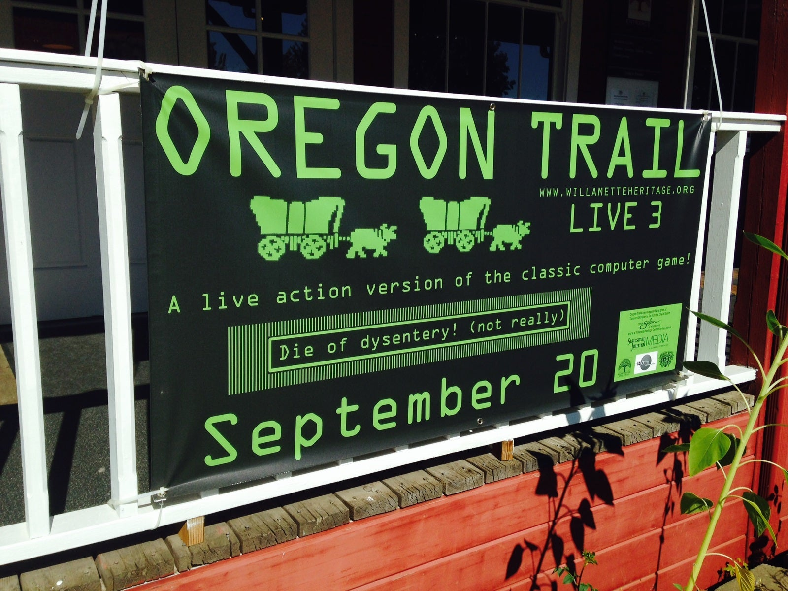 A Dispatch From The Dysentery Races Along The Live-Action Oregon Trail