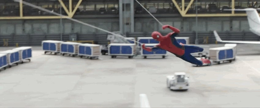 Watch Spider-Man Chase Down the Winter Soldier in New Captain America: Civil War Footage