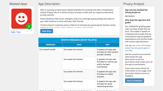PrivacyGrade Shows You Which Apps Collect Your Data (or Don't)