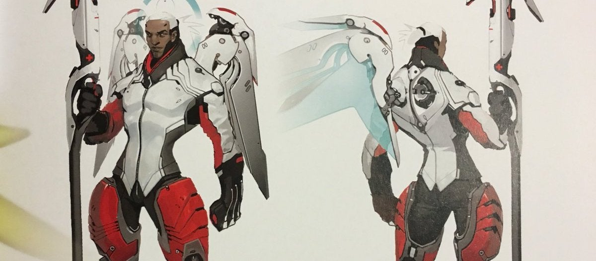 Everyone Has A Crush On This Concept Art For Overwatch's Mercy