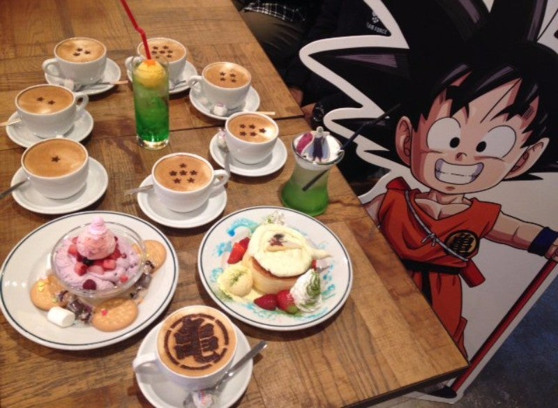 Inside Japan's Dragon Ball Cafes