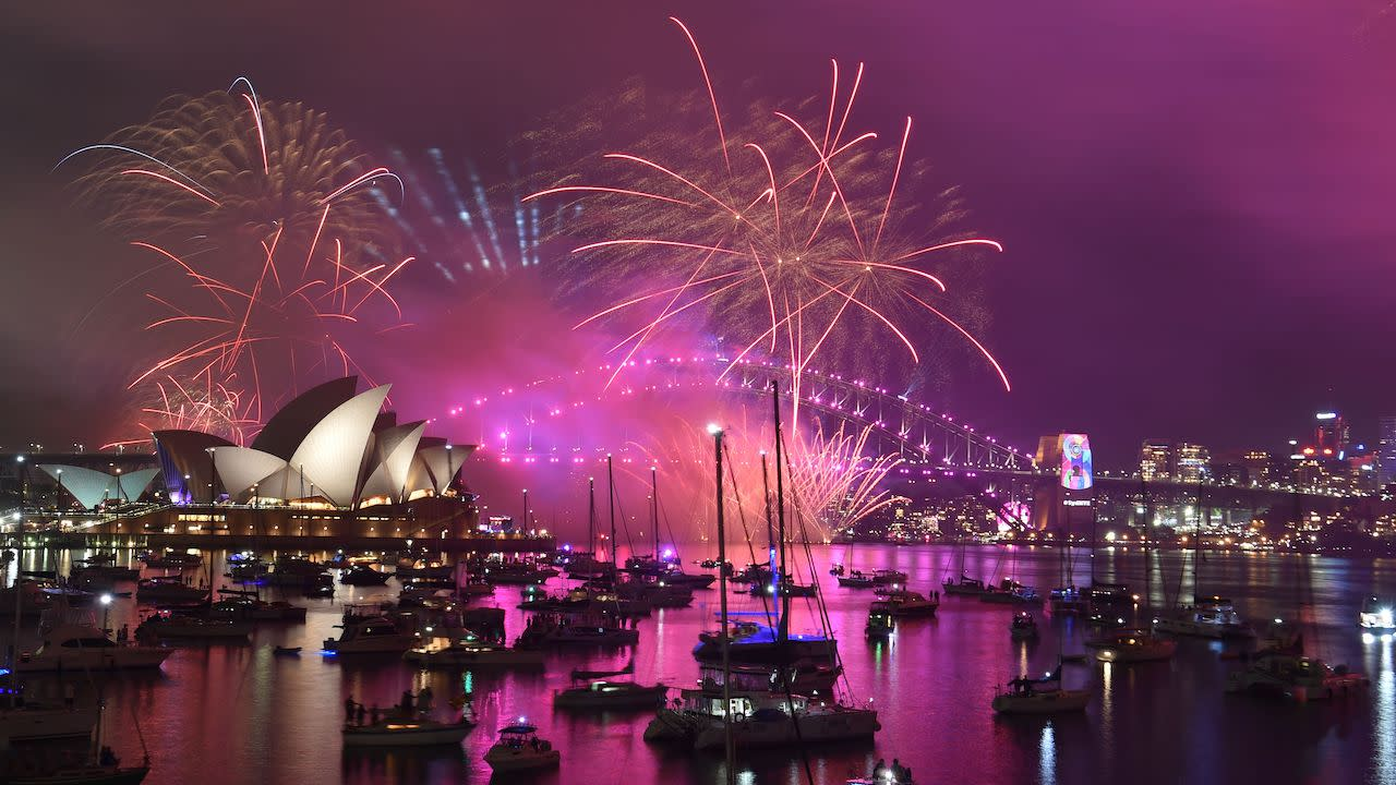 Where To Watch New Years Eve Fireworks In Australia