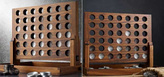 This Classy Connect Four Set Is Cool Enough to Keep Out of the Toy Box