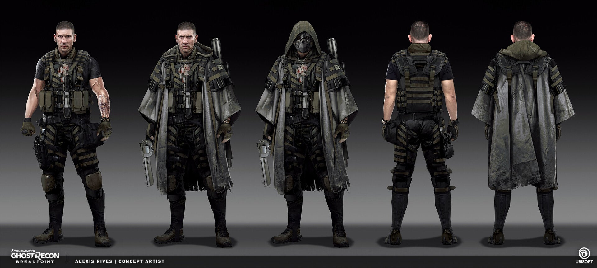 The Art Of Ghost Recon Breakpoint