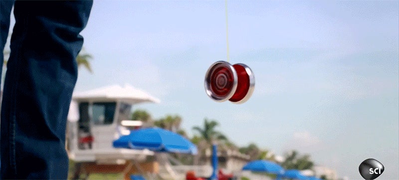 What's Inside a Yo-Yo That Keeps It Spinning?