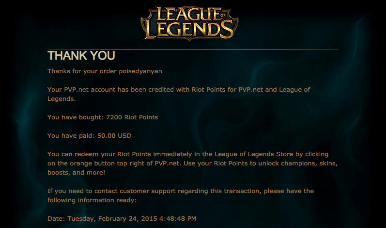 Welp, I've Spent More Than $US250 On League Of Legends