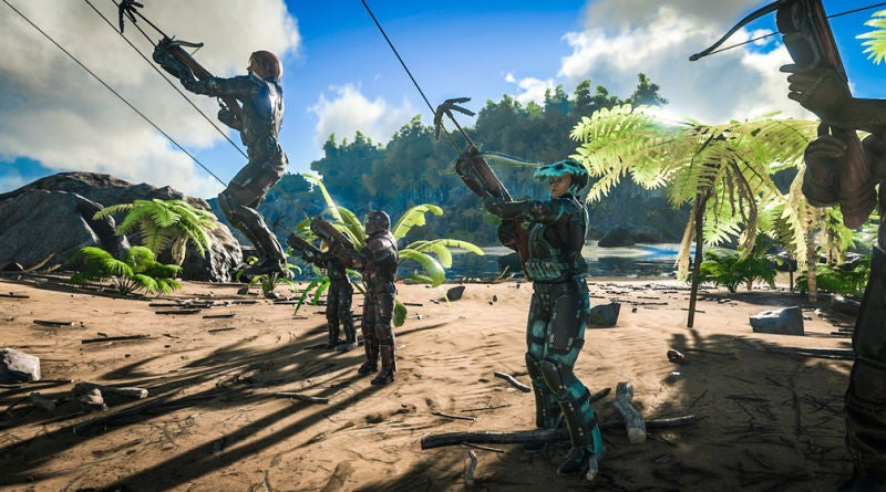 Ark: Survival Evolved Players Stage Heist To Rescue Captured Dinosaur