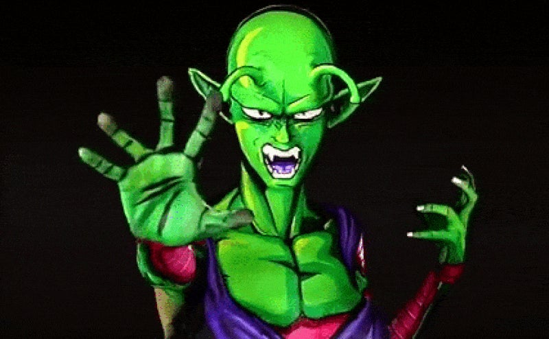 Dragon Ball Body Paint Is Only Freaky If You Smile