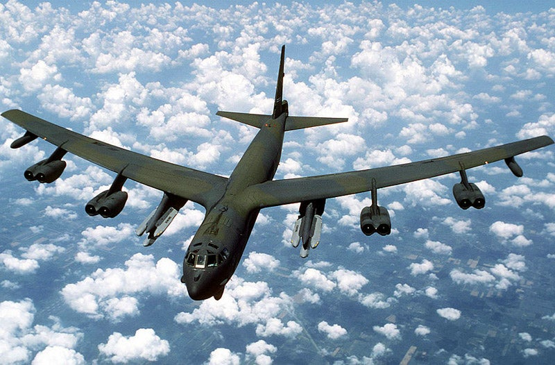 B-52 Lands Fine After Engine Falls Off In The Middle Of A Flight